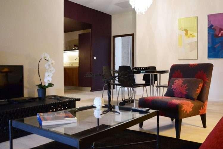 loft apartment lounge
